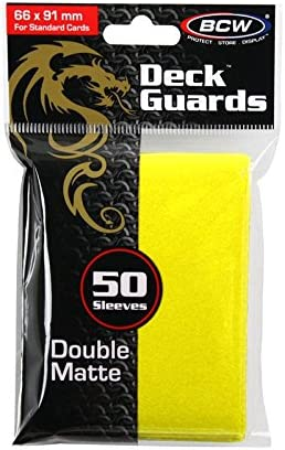 BCW Teal Double Matte Deck Guards Holder with 50 Sleeves