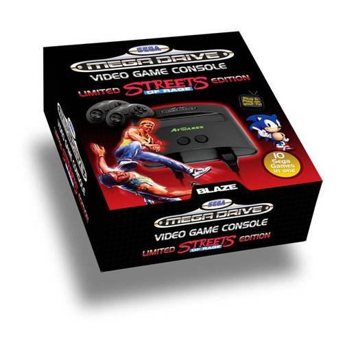 SEGA Mega Drive: Streets of Rage - Special Edition inkl. 10 Spiele (inkl. Sonic)
