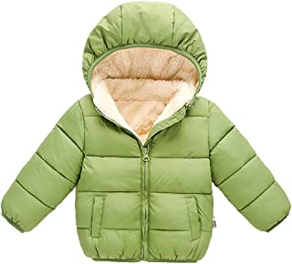 Mayunn (6M-5Y Infant Baby Boys Girls Winter Hooded Coat Cloak Jacket Thick Warm Outerwear Clothes Outfits