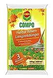 Compo Herbst-Rasen Langzeit-Dünger, 3 Monate Langzeitwirkung, Granulatform, 10 kg, 500 m²