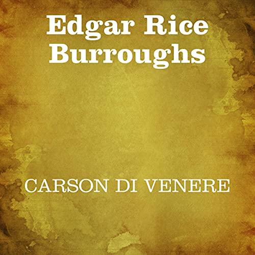 Carson di Venere copertina