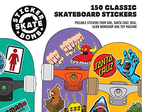Stickerbomb Skate: 150 Classic Skateboard Stickers