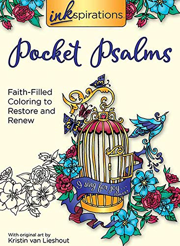 Inkspirations Pocket Psalms: Faith-Filled Coloring to Restore and Renew