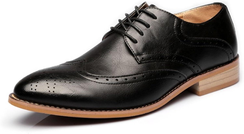LEDLFIE Men's Leather shoes Fashion Casual shoes