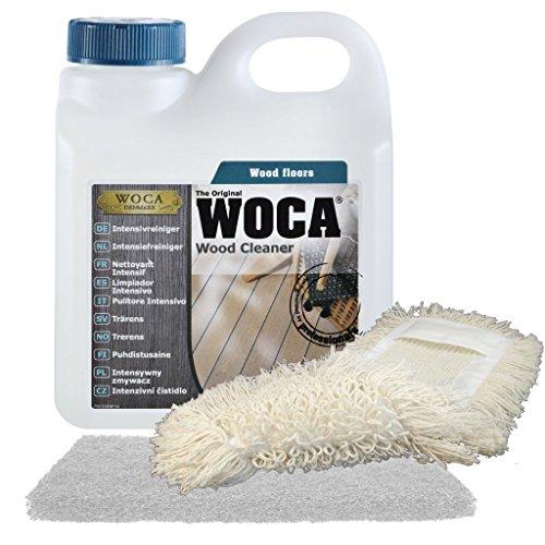 WOCA Intensivreiniger 1l inkl. Superpad und Baumwollmop