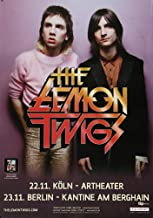 The Lemon Twigs - Do Hollywood 2016 - Poster, Concertposter, Concert