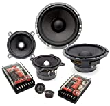 SG-165A3 - Focal 6.5' + 4' Access 3-Way Component Speakers