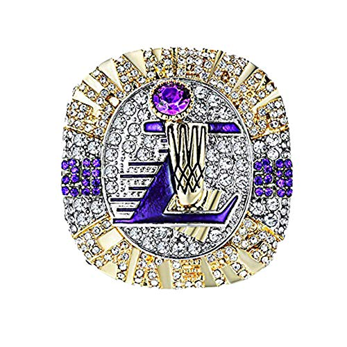 2020 Basketball Championship Rings with Box Collectible LAL Sport Fans Ring Kobe Collection Gift -#11_ONLY_RING