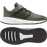 adidas RUNFALCON C, Zapatillas de Running Unisex Niños, Multicolor (Raw Khaki/Core Black/FTWR White Eg1581), 33 EU