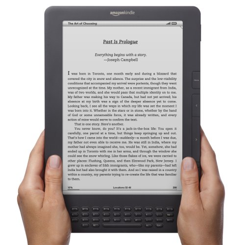 Kindle DX, Free 3G, 9.7' E Ink Display, 3G Works Globally