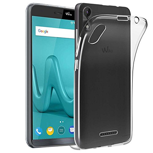 ebestStar - kompatibel mit Wiko Lenny 4 Plus Hülle Handyhülle [Ultra Dünn], Premium Durchsichtige Klar TPU Schutzhülle, Soft Flex Silikon, Transparent [Phone: 156 x 79 x 9.35mm, 5.5'']