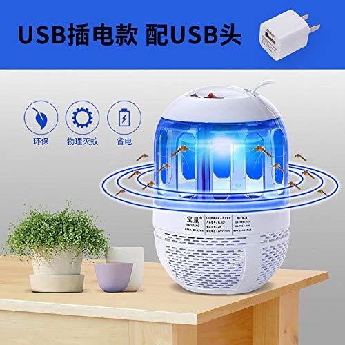 Ksnrang Lámpara antimosquitos hogar Dormitorio sin radiación silenciador de Mosquitos lámpara Repelente...