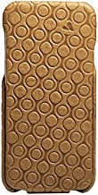 Vaja Cases Embossed Flip Top iPhone 6/6S Leather Case - Ultra Thin Polycarbonate Frame - London Circo