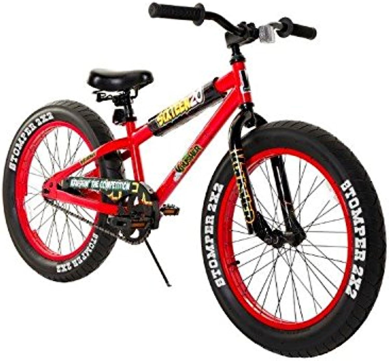 Dynacraft 810757TJD Boys 20Inch Sixteen20 Krusher Bike, Red Black
