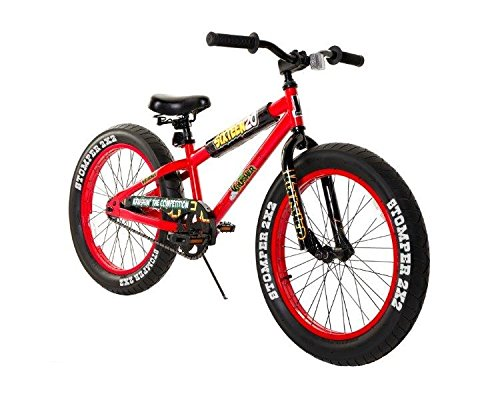 Krusher 20u0022 Kids Fat Tire Mountain Bike - Red