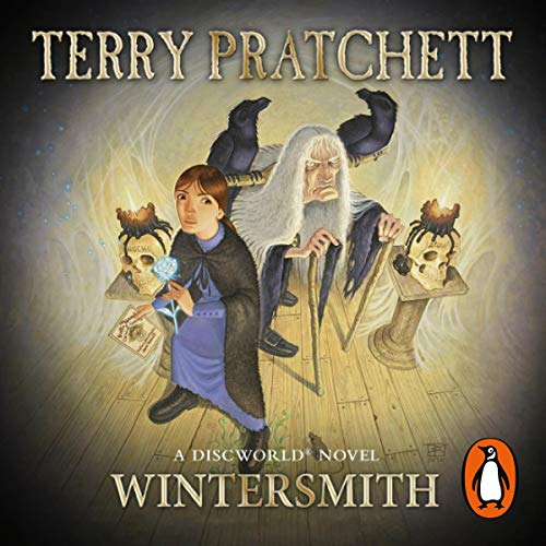 Wintersmith audiobook cover art
