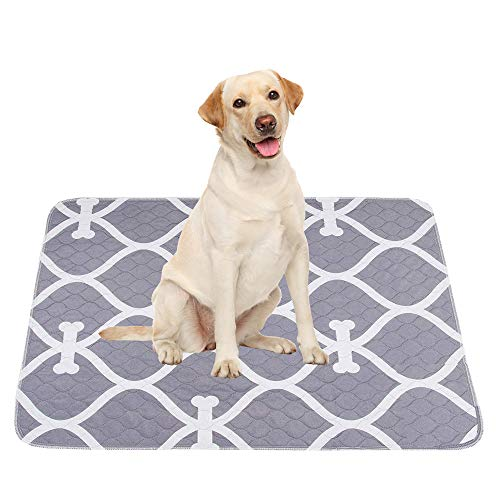 Geyecete waterproof dog mat,2-Packs,Reusable Dog Training Pads Non-Slip...