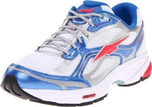 Avia Women's Avi Lite Guidance 6 Running Shoe,White/Betty Blue/Coral Rose,10.5 M US
