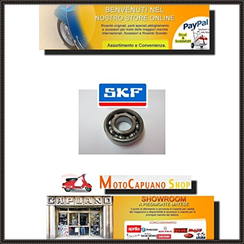 Kogellager SKF as motor kant stuur Vespa Rally 180-200 GS 160 SS 125 PX T5