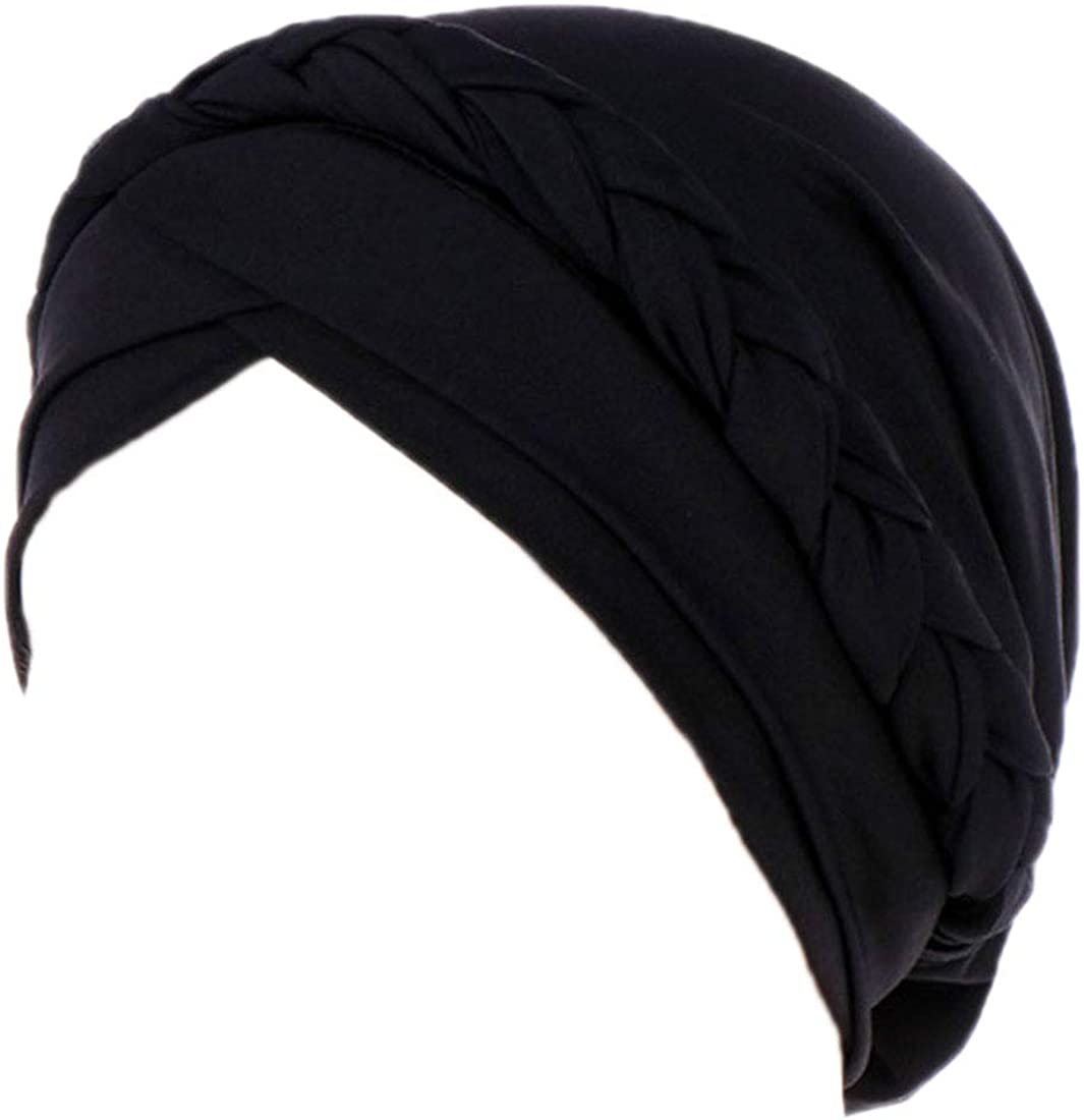 Awlsyj Ranking TOP13 Chemo Cancer Head Hat Superior Pre-Tied Bohemia Twisted Cap Ethnic