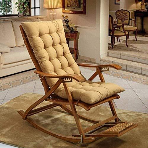 Dljyy Reisebett-Kissen for Lounge Chair Klappstuhl Kissen In Dicken Rattan-Stuhl-Kissen for Schaukelsitze Kissen In Padded Baumwolle 48x125 cm 5-26 (Farbe: F, Größe: 48x125cm (19x49inch)