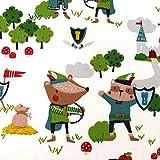 MAGAM-Stoffe Robin Wood Kinder Stoff Oeko-Tex Meterware