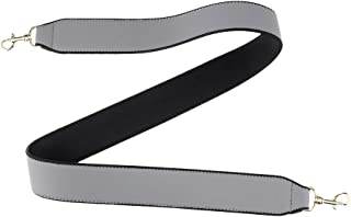 Baoblaze Women Wide Shoulder Strap PU Leather Crossbody Straps Bags Accessories