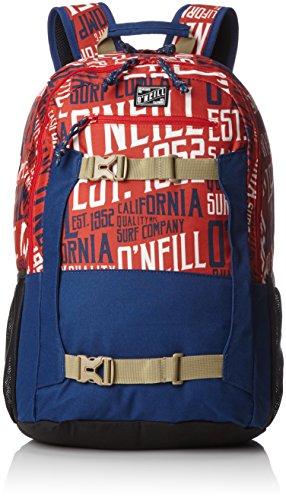 O'Neill Herren Bm Boarder Backpack Rucksack, Rot (RED AOP W/White), 20x31x48 cm