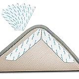 Teppichgreifer Antirutschmatte, 24 Stück Rutschschutz Teppich Aufkleber Waschbar Antirutschmatte...