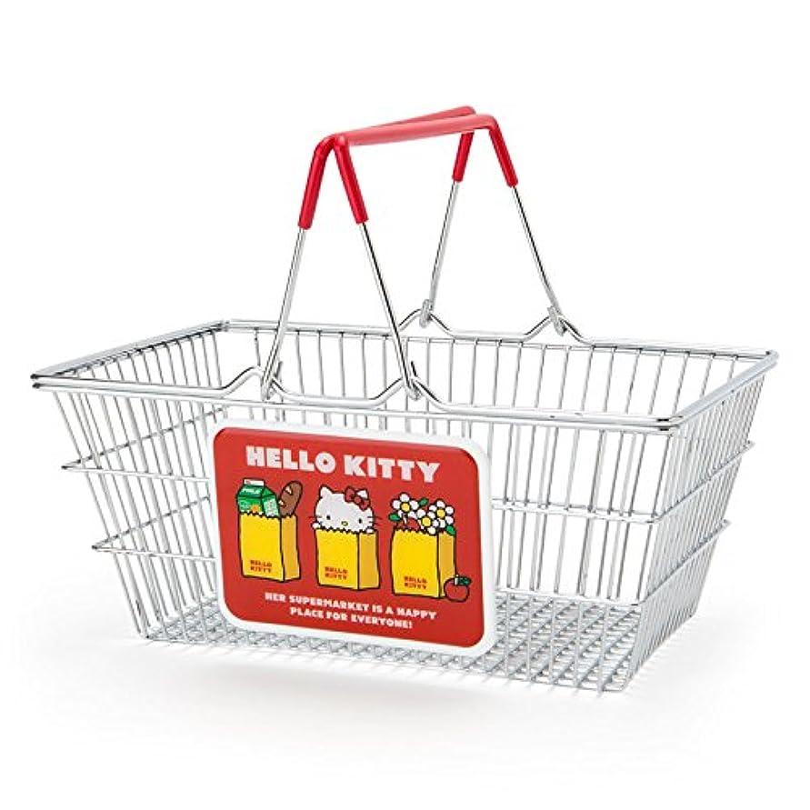 囲む称賛メイトハローキティ ワイヤーバスケット(アメリカンスーパーマーケット)