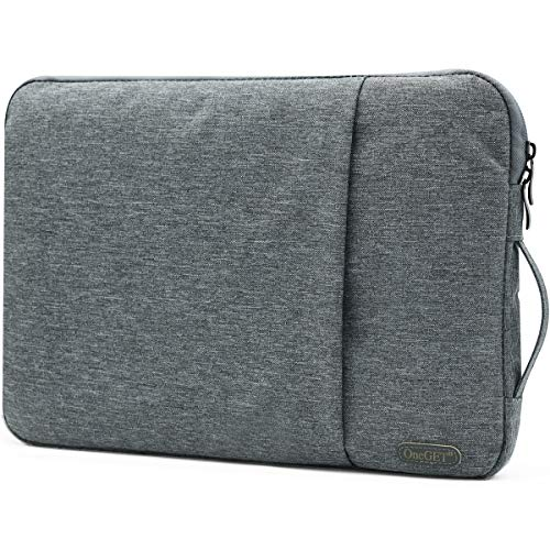 OneGET Laptop Sleeve for 2020 13-13.3 inch MacBook Pro, MacBook Air, Notebook ComputerInternal Fluff Laptop Bag with Accessory Pocket Protective Carrying Case Cover (13-13.3Inch, S102)