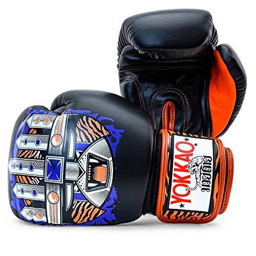 Pantalones cortos Raja Boxing Songkran para Muay Thai MMA UFC Kick Boxing Fight, Medium, Paper
