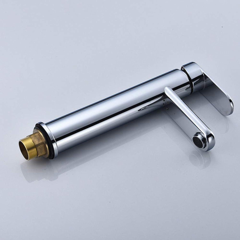 Xiujie Faucet All-Copper Single-Hole Basin Hot and Cold Faucet Basin Faucet Washbasin Faucet