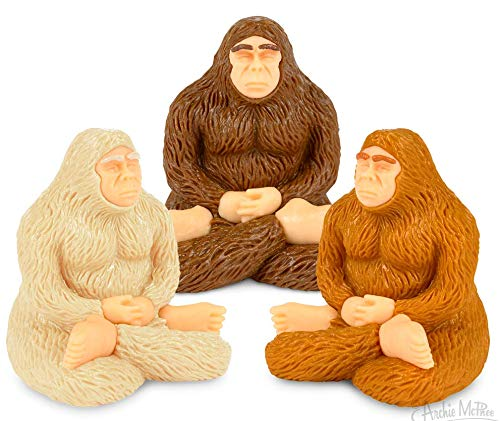 Accoutrements 3 Piece Meditating Bigfoot Set - Colors May Vary