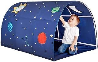 HUVE Barn leker tält tunnel pojkar lekhus inomhus barn lek tält barn lekhus tält projektor leksaker och tält för pojkar fl...