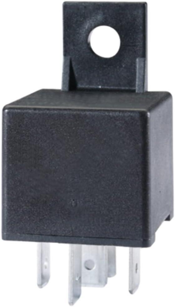 HELLA 4RA 933 791-091 Relé, corriente de trabajo - 12V - 5polos - Contacto de cierre - con soporte/con diodo de extinción