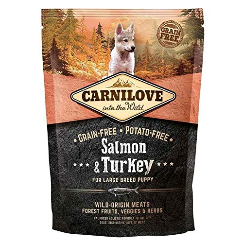 Carnilove Canine Puppy Large Salmon Pavo 1,5Kg 1500 g