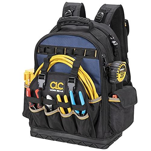 CLC Work Gear PB1133 38 Pocket Molded Base Tool Backpack
