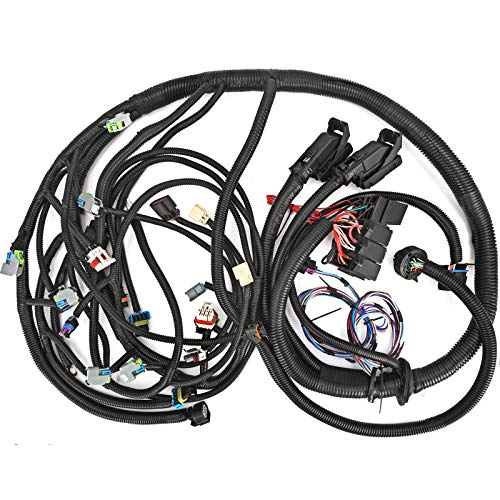 Mophorn Standalone Wiring Harness For 08-15 LS3 with 6L80E or 6L90E Engines Wiring Harness Kit 15-18 ft