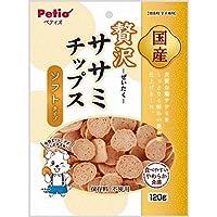 (まとめ買い)ペティオ ササミチップス ソフトタイプ 120g 【×10】
