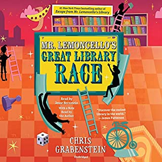 Mr. Lemoncello's Great Library Race                   Written by:                                                                                                                                 Chris Grabenstein                               Narrated by:                                                                                                                                 Jesse Bernstein,                                                                                        Chris Grabenstein                      Length: 6 hrs and 46 mins     4 ratings     Overall 4.8