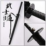 Ensoleillé Parapluie mâle Manche Long Grand Couteau créatif Parapluie épée Parapluie personnalité Japon 24 os Parapluie samouraï Parasol 8 os 100/103 / 105cm, 24 os
