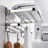 DDS-DUDES Estantes de baño autoadhesivos, toallero sobre la puerta con estante,...