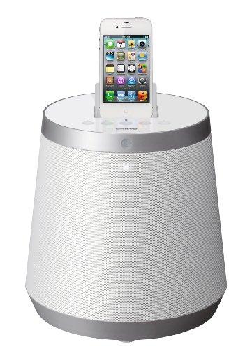 Onkyo RBX-500 (W) - Altavoz con puerto dock para iPod/iPhone