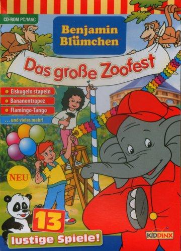 Benjamin Blümchen, Das große Zoofest, 1 CD - ROM 13 lustige Spiele