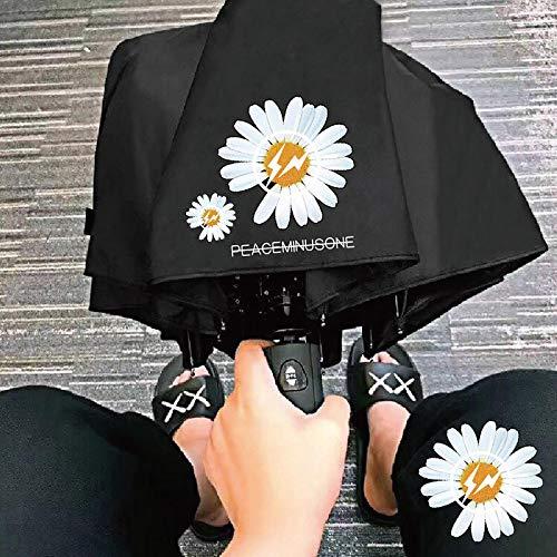 Paraguas de margaritas pequeñas, protección solar, UV, paraguas femenino para estudiantes, mapas margaritas grandes, margaritas y crisantemo, paraguas manual