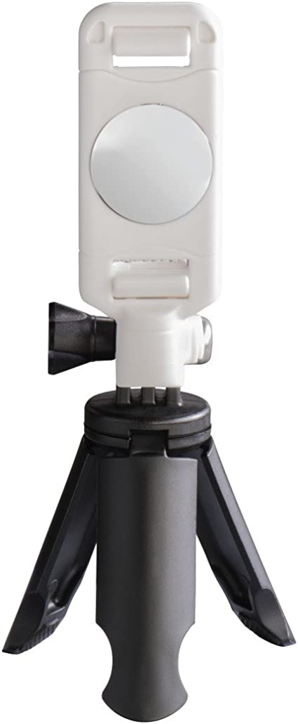 Mini Stativ Für Smartphone Pocket 5 Cm Weiß Kamera