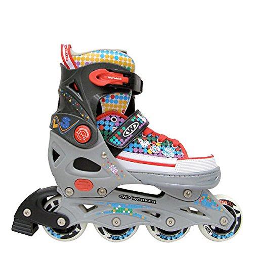 Inline Skates Jules Inliner Größenverstellbar (S (33-36))