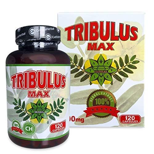 Cvetita herbal, Bulgarisch Tribulus Terrestris 120 Kapseln Extrakt, Testosterone booster, Muskelmasse