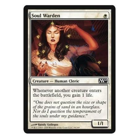 Magic The Gathering - Soul Warden - Magic 2010